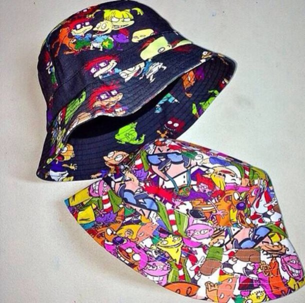 hat bucket hats rugrats