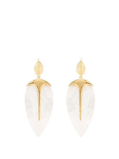 AURELIE BIDERMANN pearl earrings gold jewels