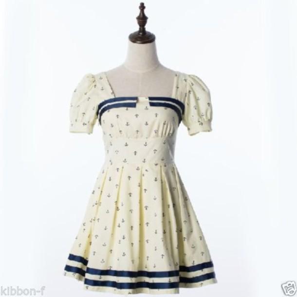 Dress Cute Cute Dress Kawaii Sailor Pin Up Sailor Style