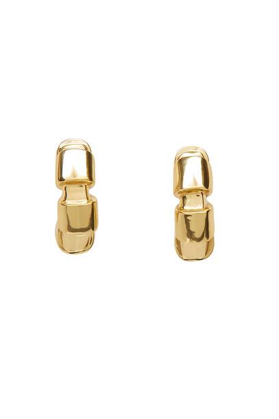 Ellery Futile Cubism Earrings  in gold