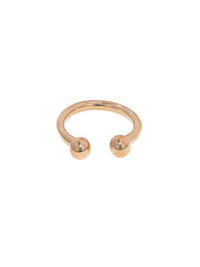 Small Double Ball - Designer Rose Gold Ring