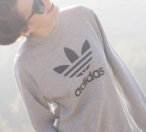 top adidas sweatshirt sportswear adidas sweater logo sweater shirt