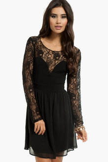 Sweethearts Lace Dress - Tobi