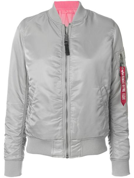 jacket bomber jacket women grey