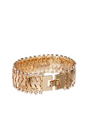 ASOS | ASOS Stone Chain Bracelet at ASOS