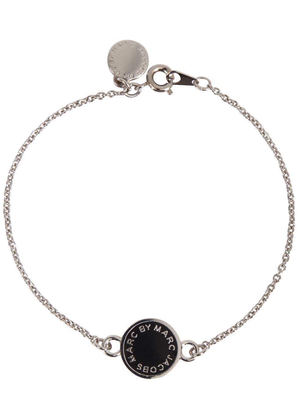 Marc by Marc Jacobs Silver tone enamel bracelet