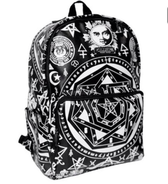 bag black illuminati back pak