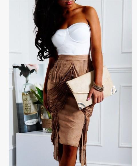 little black dress blogger pink fall outfits skirt