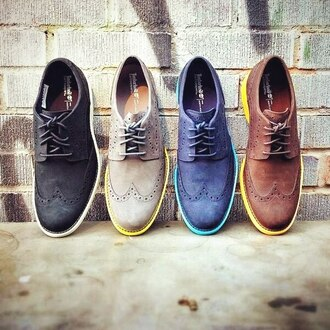 79 menswear mens shoes oxfords blue beige brown block colour mens accessories hipster menswear hipster wishlist shoes