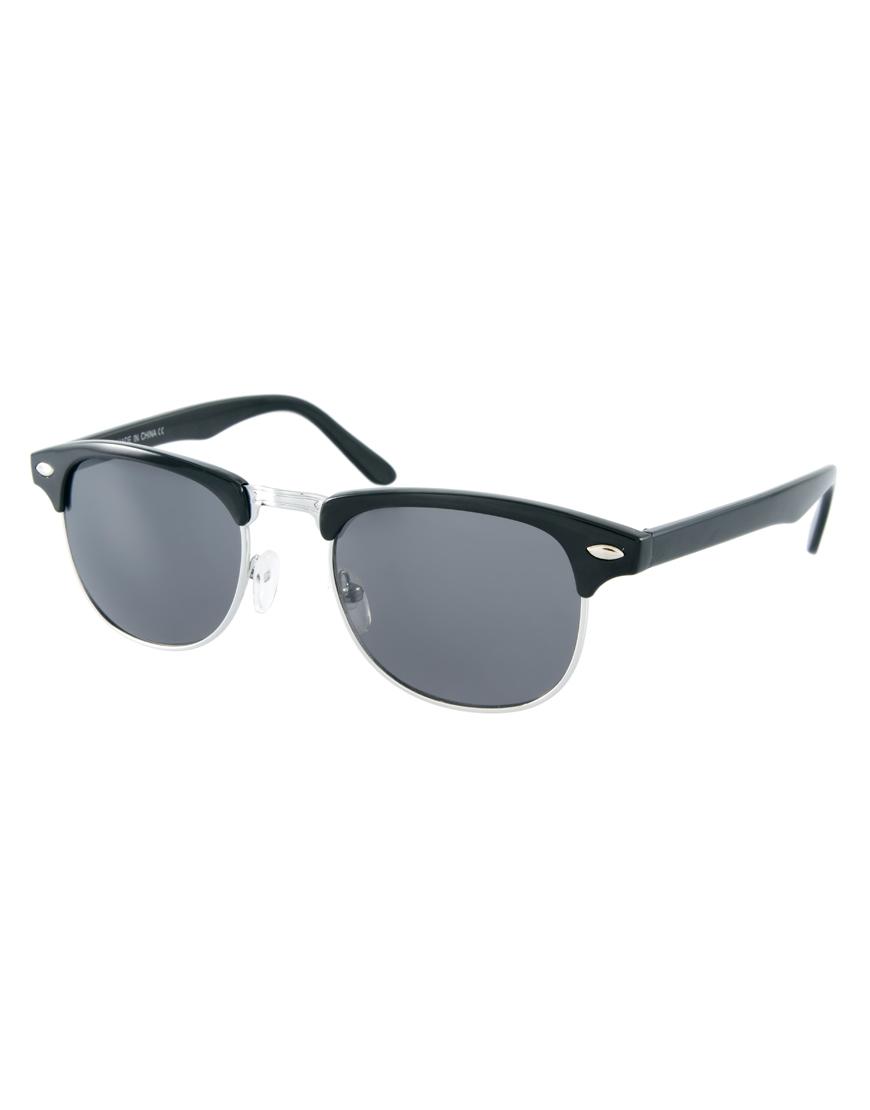 ASOS Clubmaster Sunglasses at asos.com