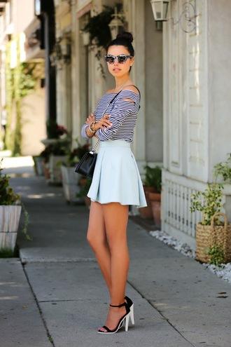 viva luxury bag shoes skirt sunglasses t-shirt jewels nail polish