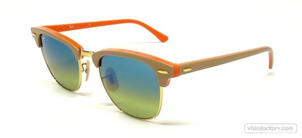 sunglasses rayban lunette de soleil purple and blue