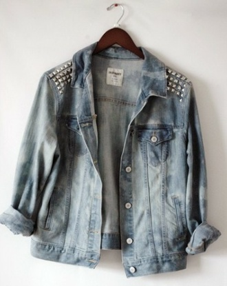 jacket veste denim denim jacket coat shirt cardigan spring jacket