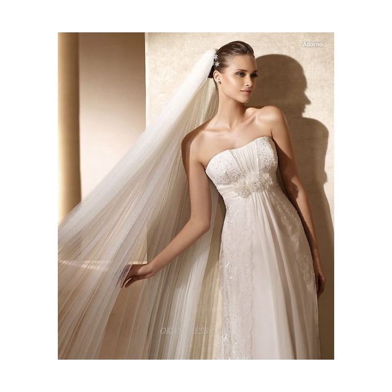 Rosa Clara Adorno Bridal Gown (2012) (RC12_AdornoBG) - Crazy Sale Formal Dresses Special Wedding Dresses Unique 2017 New Style Dresses