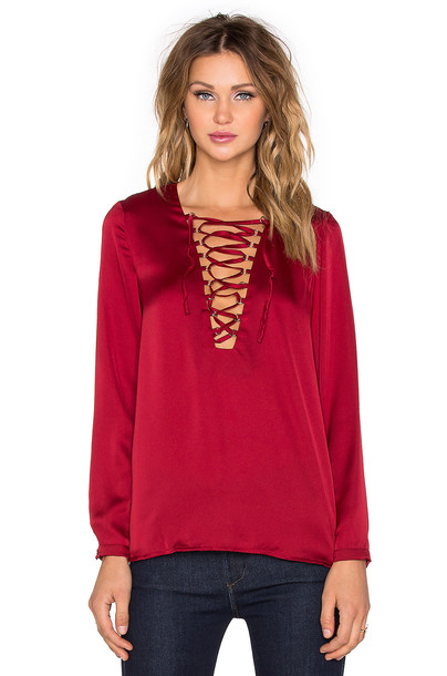WYLDR blouse red