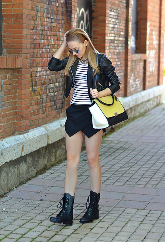 oh my vogue jacket t-shirt sunglasses shoes bag jewels