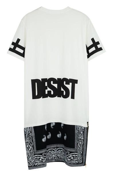 DESIST Bandana Shirt Dress (2 colors available) – Glamzelle