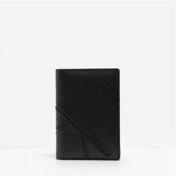 bag leather texture passport cover