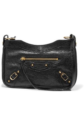 classic bag shoulder bag leather black