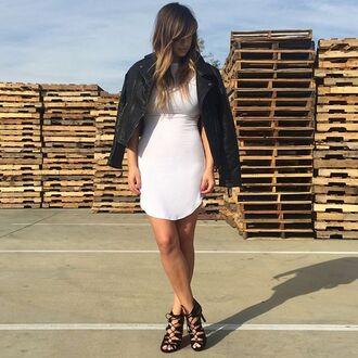 dress bodycon dress bodycon white dress gojane t-shirt dress