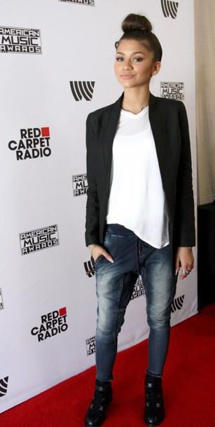 zendaya jeans bun zendaya pants