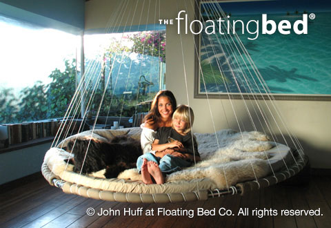 Bed, Hanging Daybed, Indoor Hammock Bed   The Floating Bed Co