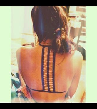 top ladder ladder cut bikini bikini top