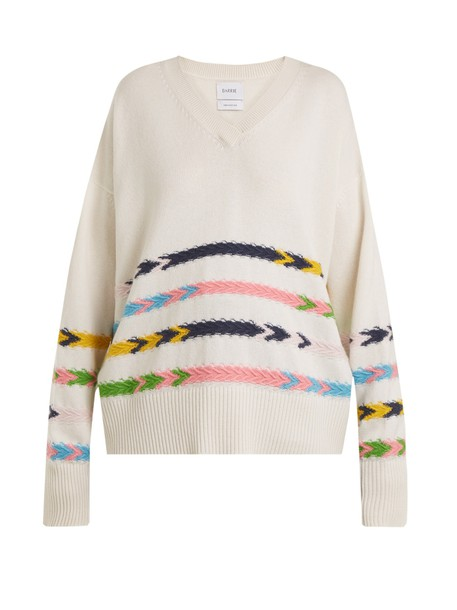 Barrie sweater summer sailor cream