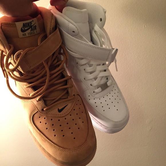 brown shoes nike sneakers suede