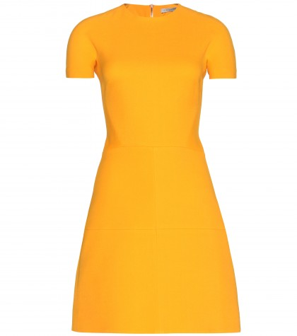 mytheresa.com -  Silk and wool-blend crepe dress  - Short - Dresses - Clothing - Luxury Fashion for Women / Designer clothing, shoes, bags
