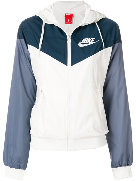 Nike jacket women white