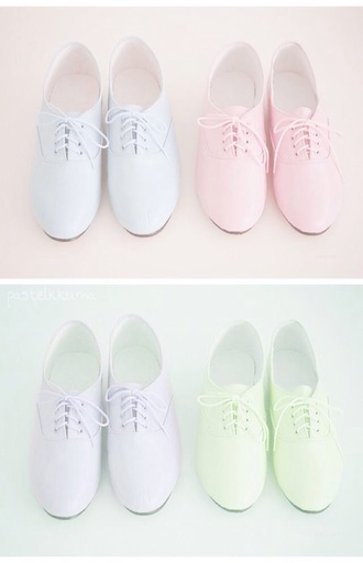 shoes pastel girly sweet