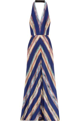 dress maxi dress maxi knit crochet