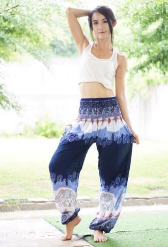 pants yoga cut up genie pants aladdin pants yoga pants mens harem pants harem pants hippie hippie pants