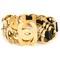 Chanel vintage cut-out logo chain belt, women's, grey