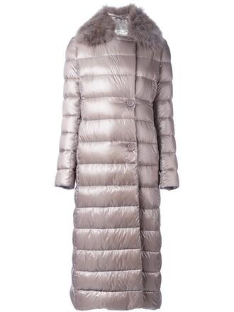 coat fur grey