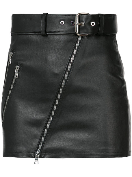 Amiri skirt mini skirt mini women leather black