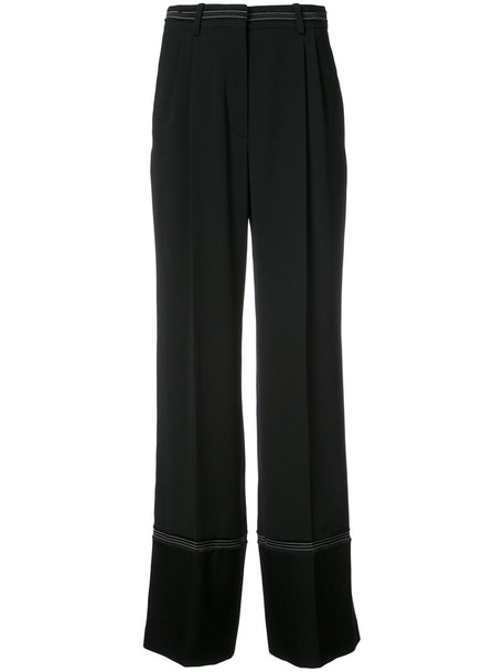 Sonia Rykiel pants high waisted pants high waisted high women black