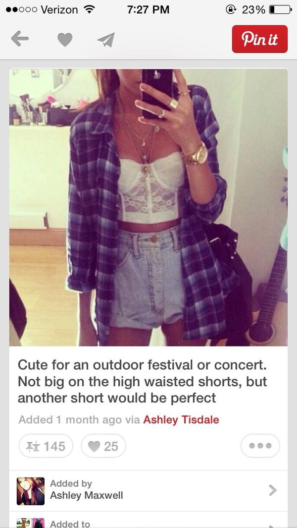 jeans blouse shirt shorts jacket jewels