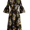 Aleena floral-print matelassé dress
