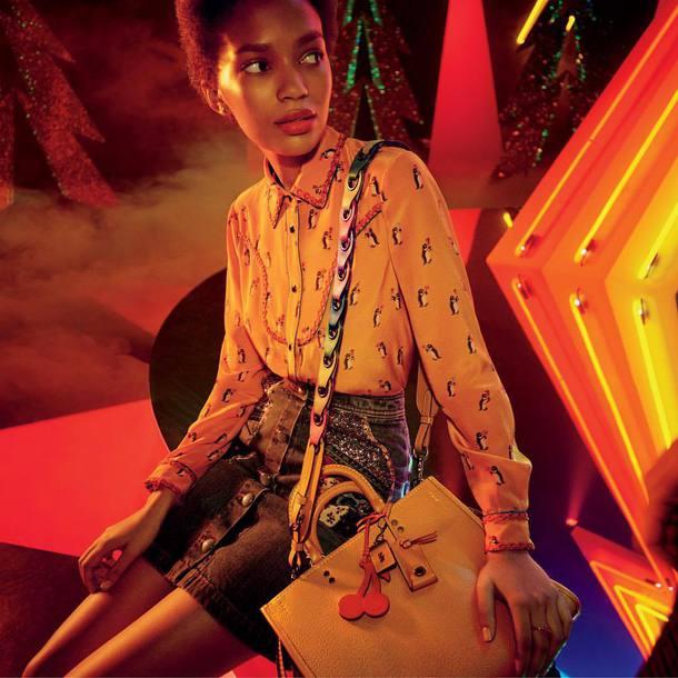 handbag yellow handbag bag
