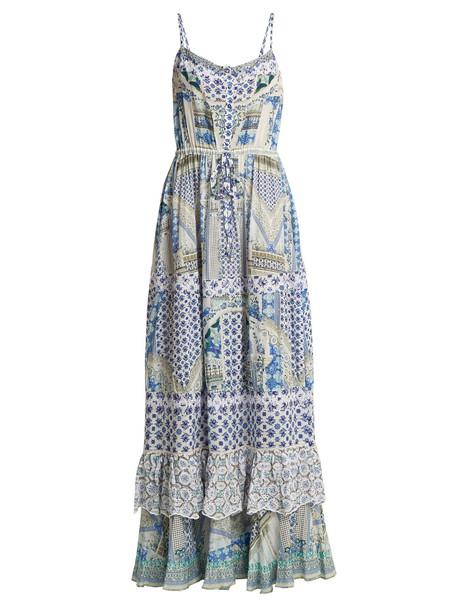 Camilla dress maxi dress summer maxi blue