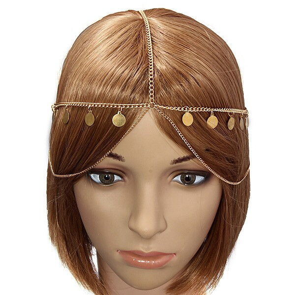 Boho cirla headpiece