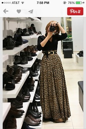 skirt,maxi skirt,leopard print,high waist maxi skirt,hight waist skirt,lepard print,floor length dresses,chettah print