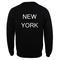 New york sweatshirt back