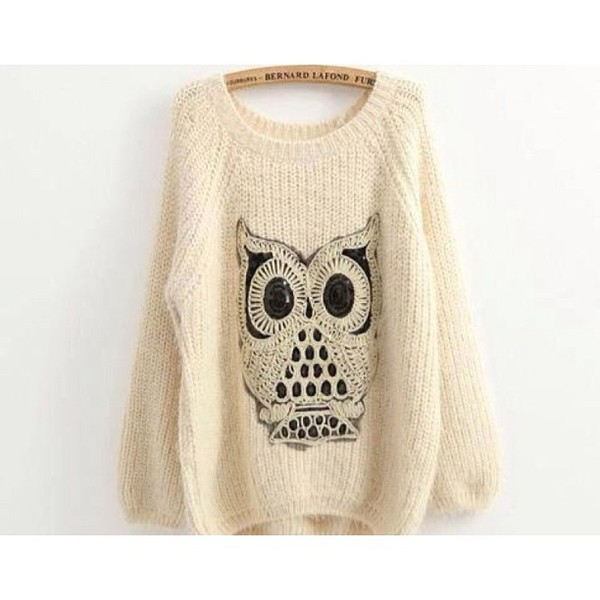 sweater owl sweater jumper