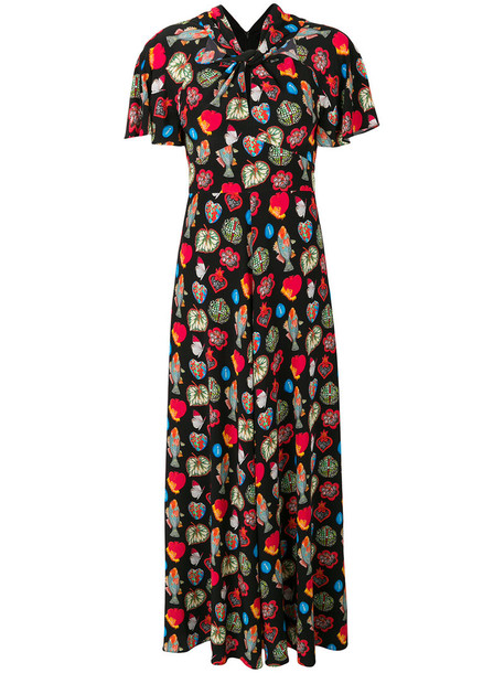 Temperley London dress women black