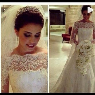 dress wedding dress wedding gowns bride dresses lace wedding dresses
