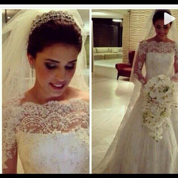 dress wedding dress wedding gowns bride dresses lace wedding dress