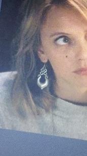 jewels,the originals,earrings,silver,dangly earrings